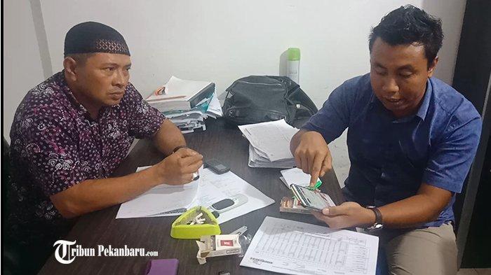 Terima Laporan Caleg Abdul Nasib & Zakir, Bawaslu Pelalawan: Pemindahan Suara Tindak Pidana Pemilu