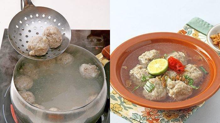 Resep Bakso, Simak Cara Membuat Bakso Aci Kuah Kaldu Tulang Sapi, Catat Bahan-bahannya