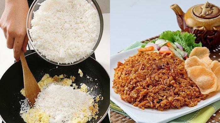 2 Kesalahan Ini Sering Dilakukan, Ternyata Begini Cara Membuat Nasi Goreng Agar Tak Berminyak