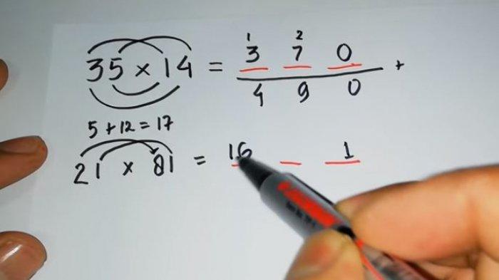 Trik Matematika Sederhana, Rumus Perkalian Cepat Matematika Tidak Rumit