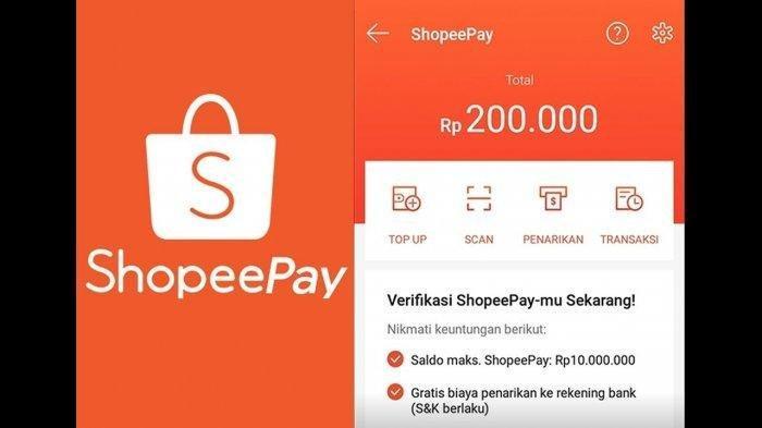Cara Isi Saldo (Top Up) ShopeePay 2020, Begini Cara Pakai ShopeePay Belanja di Shopee