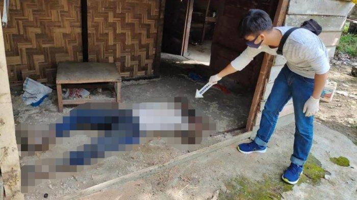 Penemuan mayat Mr X di sebuah gubuk kosong di Rohul.