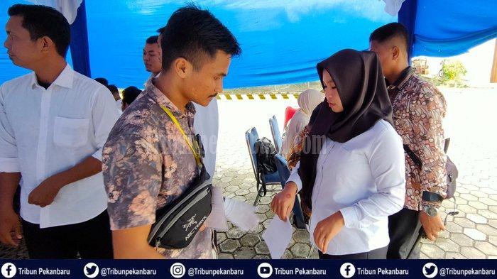 293 Peserta Gugur Selama  Lima Hari Tes SKD CPNS di Pelalawan Riau