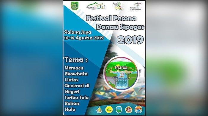 Catat Tanggalnya, Festival Pesona Danau Sipogas 2019 Segera Digelar di Rohul Riau