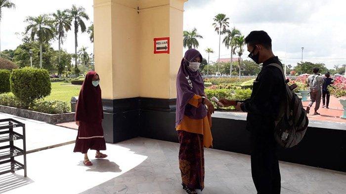 Hari Pertama Istana Siak Buka, Ada Wisatawan Asal Malaysia, Ratusan Tiket Terjual