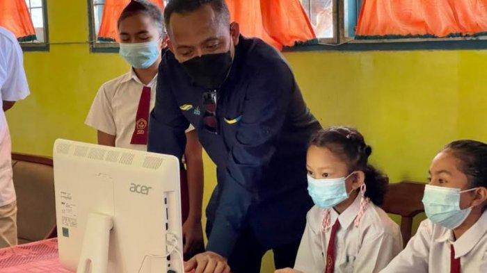 Hari Pendidikan Nasional, PTPN V Salurkan 25 Komputer & Paket Internet Selama Setahun