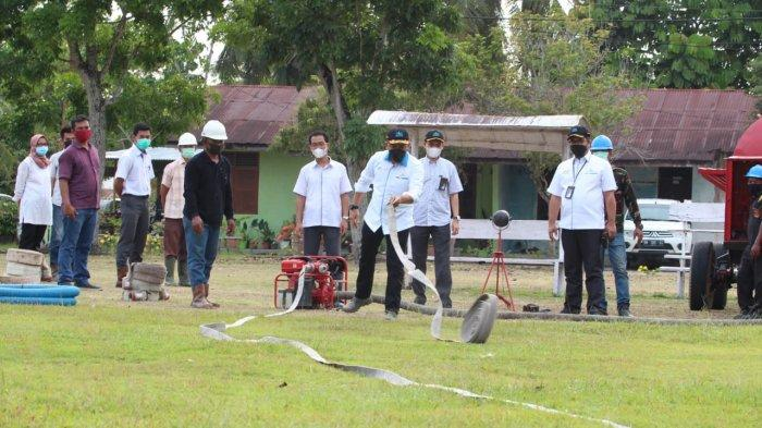 PTPN V Siagakan Puluhan Embung Bantu Satgas Antisipasi Karhutla di Riau