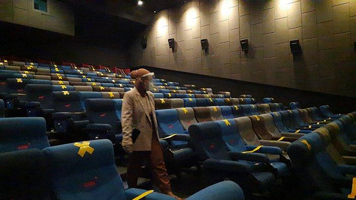 Kangen Nonton?Mulai Hari Ini Bioskop CGV di Pekanbaru Buka Lagi Lho,Tapi Ada Syaratnya, Apa Saja?