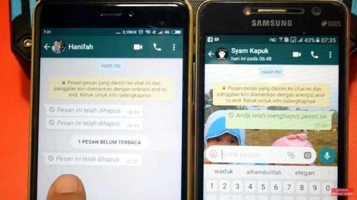 Ini Ciri-ciri WhatsApp Kamu Disadap Orang Lain, Pesan Terbaca Padahal Belum Dibuka, Harap Waspada!