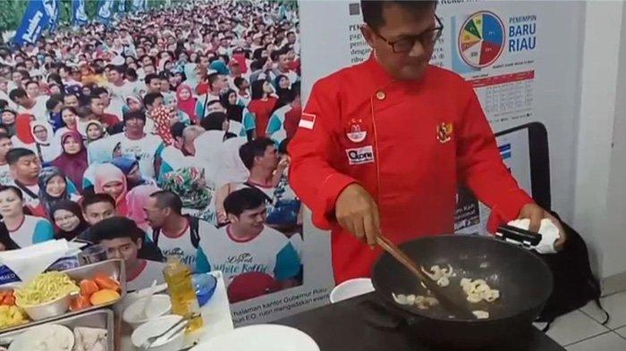 LIVE STREAMING : Chef Winahyo Demo Masak Bersama Kokita di Tribun Pekanbaru