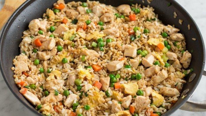Menu Sarapan Pagi Ini, Resep Chicken Egg Rice Serta Cara Membuat Chicken Egg Rice