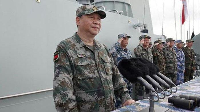 Tegang, China Gelar Latihan Besar-besaran di Laut China Selatan