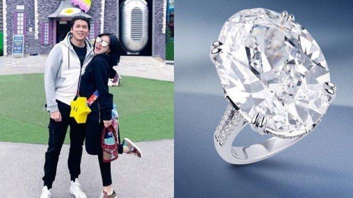 Jangan Ngiri! Syahrini Pamer Cincin Berlian Super Mewah, Koleksi Baru Toko Perhiasan Kelas Dunia