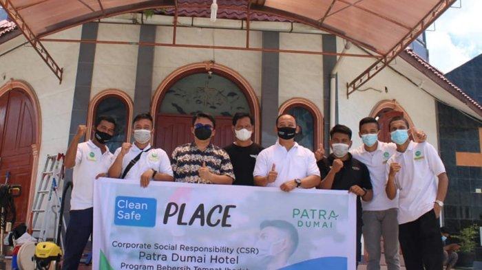 Clean Place, Safe Place, Program CSR Patra Dumai Bebersih Tempat Ibadah