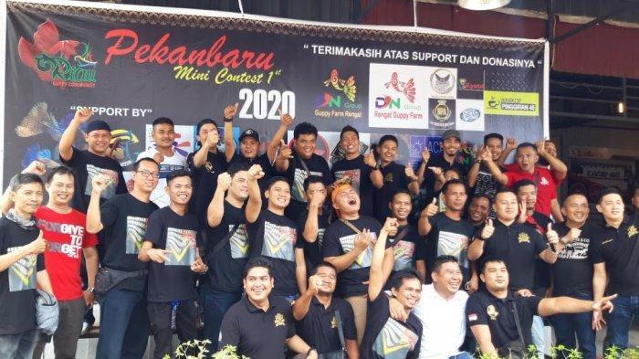Kisah Seru Riau Community Flowerhorn dan Riau Guppy Community