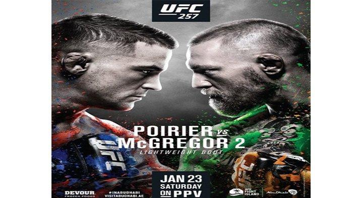 LINK STREAMING UFC Conor McGregor vs Dustin Poirier, Minggu (24/1/2021)