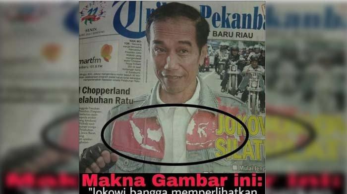 Anak Jokowi Emosi, Foto Ayahnya Pakai Jaket Dimaknai Begini, 'Jangan Hina Karya Teman Saya!'