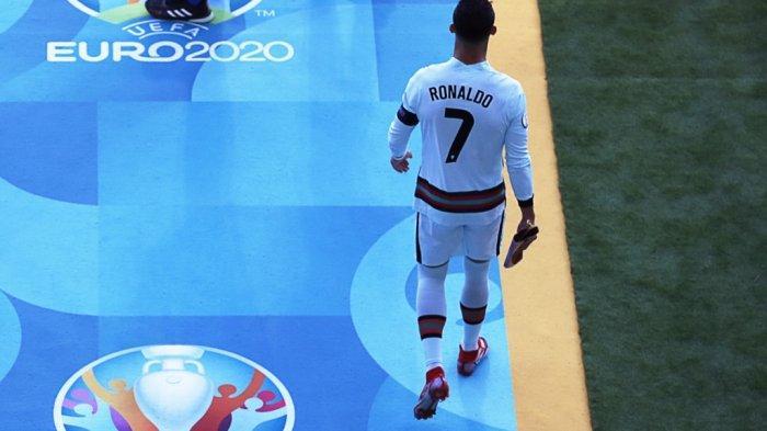 Cristiano Ronaldo di Piala Eropa 2020.