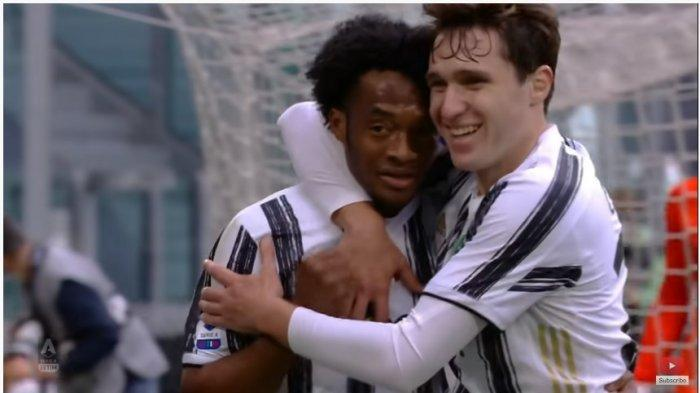 Liga Italia : Laga Aneh Juventus vs Inter Milan, 3 Penalti dan 2 Kartu Merah, Cuadrado Unjuk Gigi