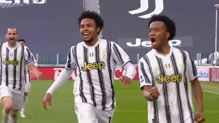 Liga Italia: Ulangi Gaya Gol 4 Tahun Silam bagi Juventus, Juan Cuadrado bikin Inter Milan Patah Hati