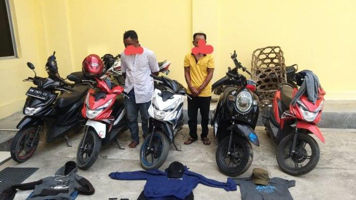 Tak Jera Dipenjara,2 Residivis di Kuansing Balik ke Profesi Lama, Aksi Terekam CCTV, Masuk Bui Lagi