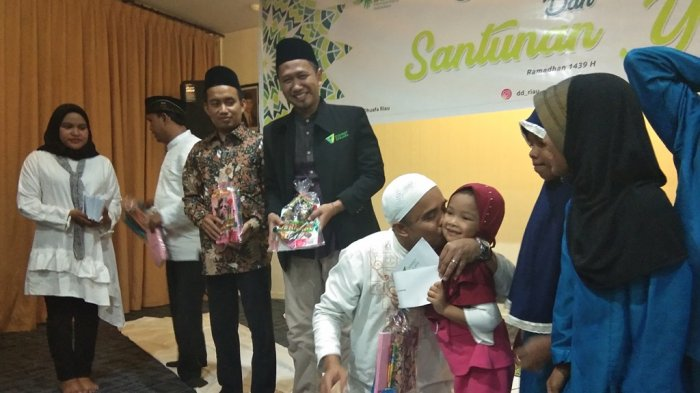 Hotel Dafam Pekanbaru dan Dompet Dhuafa Undang Serta Santuni 65 Anak Panti Asuhan