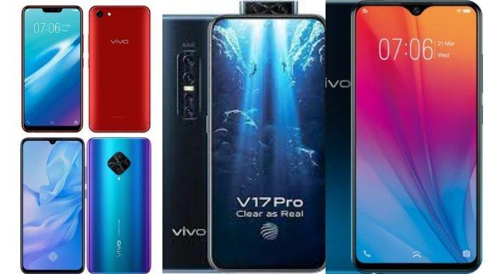 Daftar Harga HP Vivo Bulan MEI 2020: Harga Vivo Seri V, Seri Y Hingga Vivo Seri S