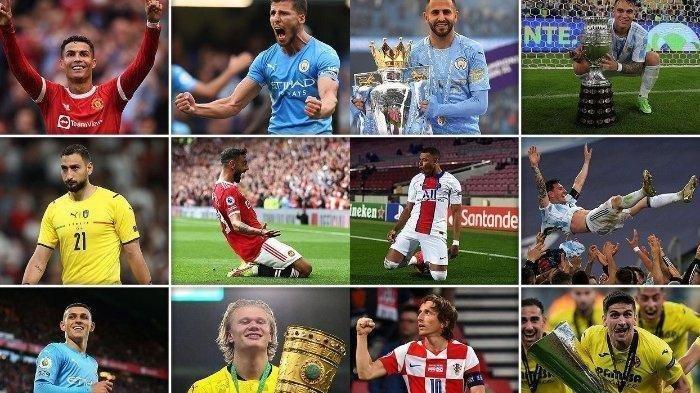 Daftar Nominasi 30 Pemain Ballon d'Or 2021, Mohamed Salah, Mbappe, Messi, Ronaldo, Siapa Terbaik?
