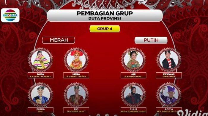 Daftar peserta Grup 4 TOP 56 LIDA 2021