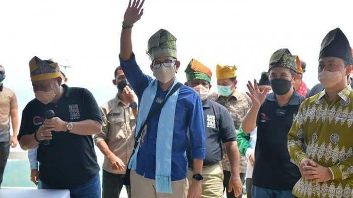 Sandiaga Uno Datang, Ketua DPRD Kampar Kader Gerindra Tak Kelihatan, ke Mana?
