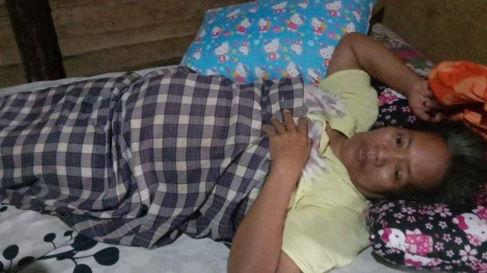 Harus Dioperasi, Penderita Tumor Rahim di Rohul Riau Pilih Pulang karena Kesulitan Biaya