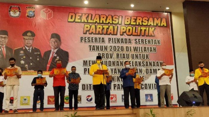 Sempat Banyak Petugas KPPS Reaktif, KPU Pastikan Pilkada di Riau Tidak Terganggu
