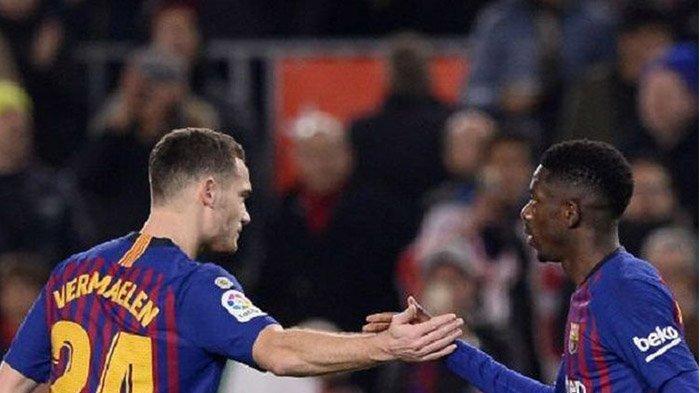 Gol Ousmane Dembele di Menit Akhir Bawa Barcelona Dekati Atletico, Ini Update Klasemen Liga Spanyol