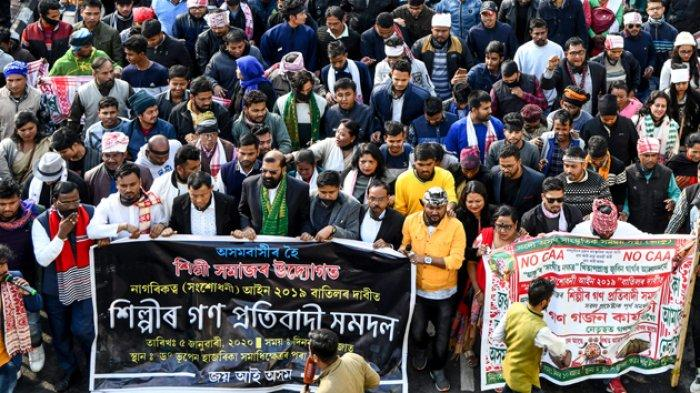 Temuan Tim Pencari Fakta, Polisi India Sengaja Tembak Warga Muslim Saat Bubarkan Aksi