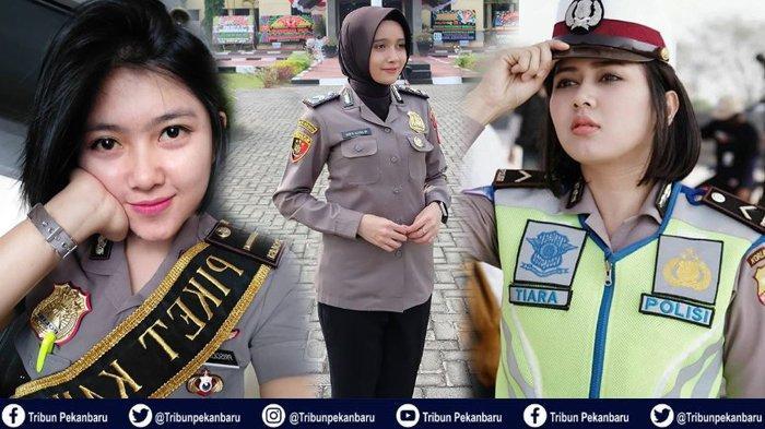DERETAN Polwan Cantik Indonesia yang Jadi SELEBGRAM dengan Follower Puluhan Ribu, Ada Gadis Manado