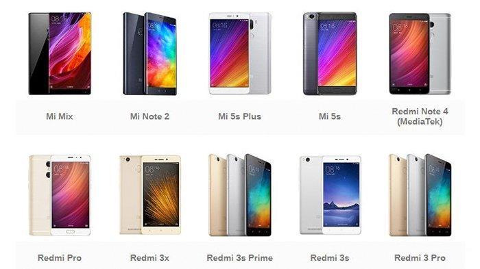 UPDATE Daftar Harga Terbaru HP Xiaomi Terbaru Bulan Maret 2020, Banyak Hp Harga 1 Jutaan