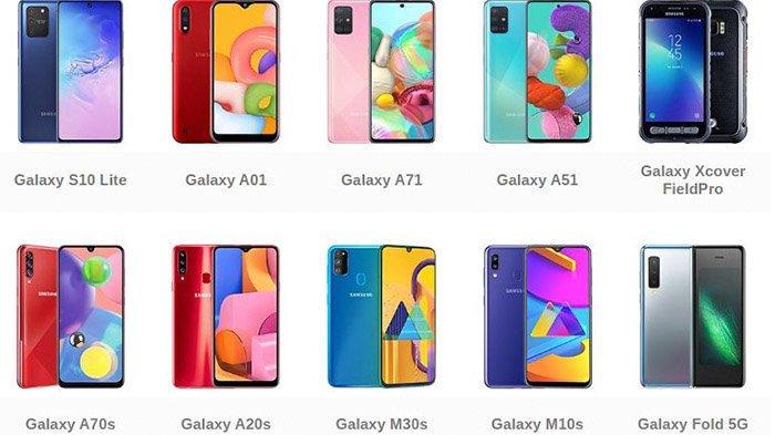 Harga HP Samsung Akhir Bulan Juli 2020, Cek Harga Samsung Terbaru Lengan Dengan Spesifikasi