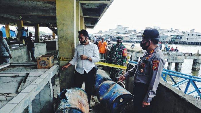 Dermaga Apung Meledak, 3 Warga Tanah Merah Inhil Jadi Korban Luka