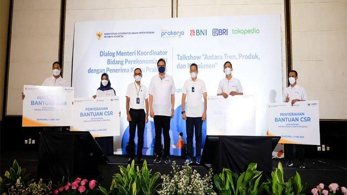 Menko Airlangga: Program Kartu Prakerja Berguna dalam Upskilling SDM & Ciptakan Lapangan Kerja Baru