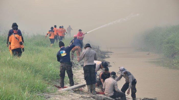 Diancam Copot oleh Presiden Jokowi, Kapolres Pelalawan Riau Siap Menginap di Lokasi Kebakaran Hutan