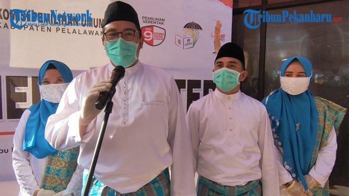 Didukung 6 Parpol Parlemen dan Non Parlemen, Bapaslon Ridi-Habibi Pendaftar Kedua ke KPU Pelalawan