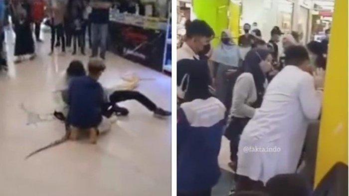 VIDEO DETIK-DETIK Pemilik Ular Digigit Ular Sendiri saat Atraksi di Mall: Ularnya Lapar