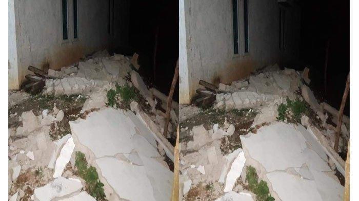 Tiga Kali Solok Selatan Sumbar Diguncang Gempa, 10 Rumah Warga Rusak