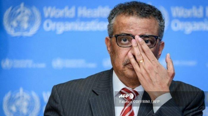 Direktur Jenderal Organisasi Kesehatan Dunia (WHO) Tedros Adhanom Ghebreyesus