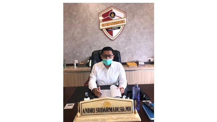 Direktur Reserse Kriminal Khusus Polda Riau Kombes Pol Andri Sudarmadi