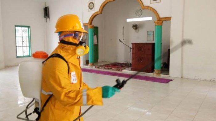 Cegah Virus Corona di Dumai, Pertamina Perbanyak Lokasi Disinfeksi Rumah Ibadah dan Fasilitas Umum