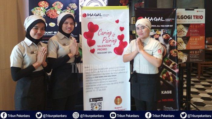 Diskon 20 Persen Menu Ala Korea di Magal Korean Barbeque Living World Pekanbaru Moment Valentine Day
