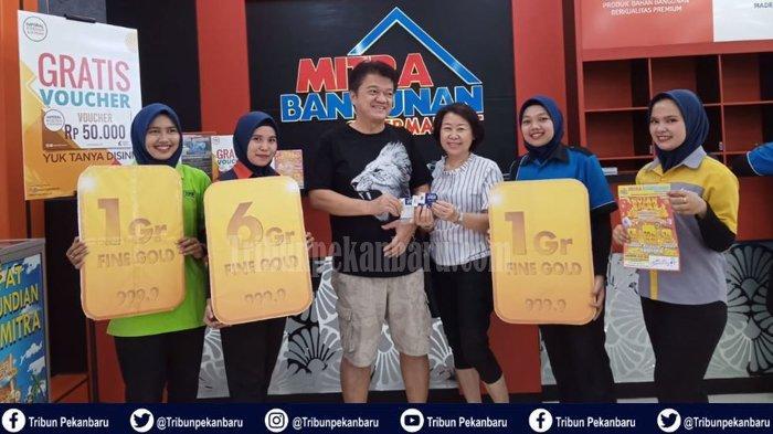 DISKON HARI INI Belanja di Riau, Desember Diskon Takajuik di Mitra Bangunan, Plus Hadiah Logam Mulia