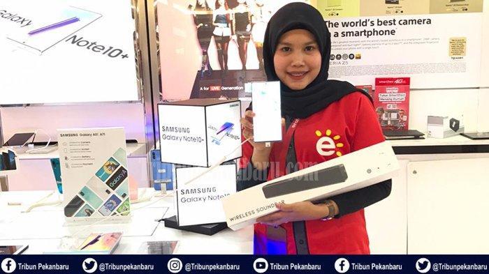DISKON PEKAN INI Beli HP di Pekanbaru, Promo Samsung Galaxy Note 10+ dan Samsung Galaxy S20 Series