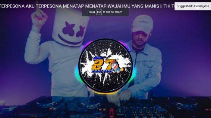 Download Lagu DJ Terpesona Aku Terpesona Viral Tiktok Versi Remix, Lagu DJ Tiktok Viral Terbaru 2021